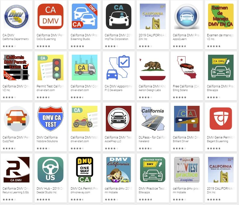 California DMV • Drivers • Android Apps on Google Play