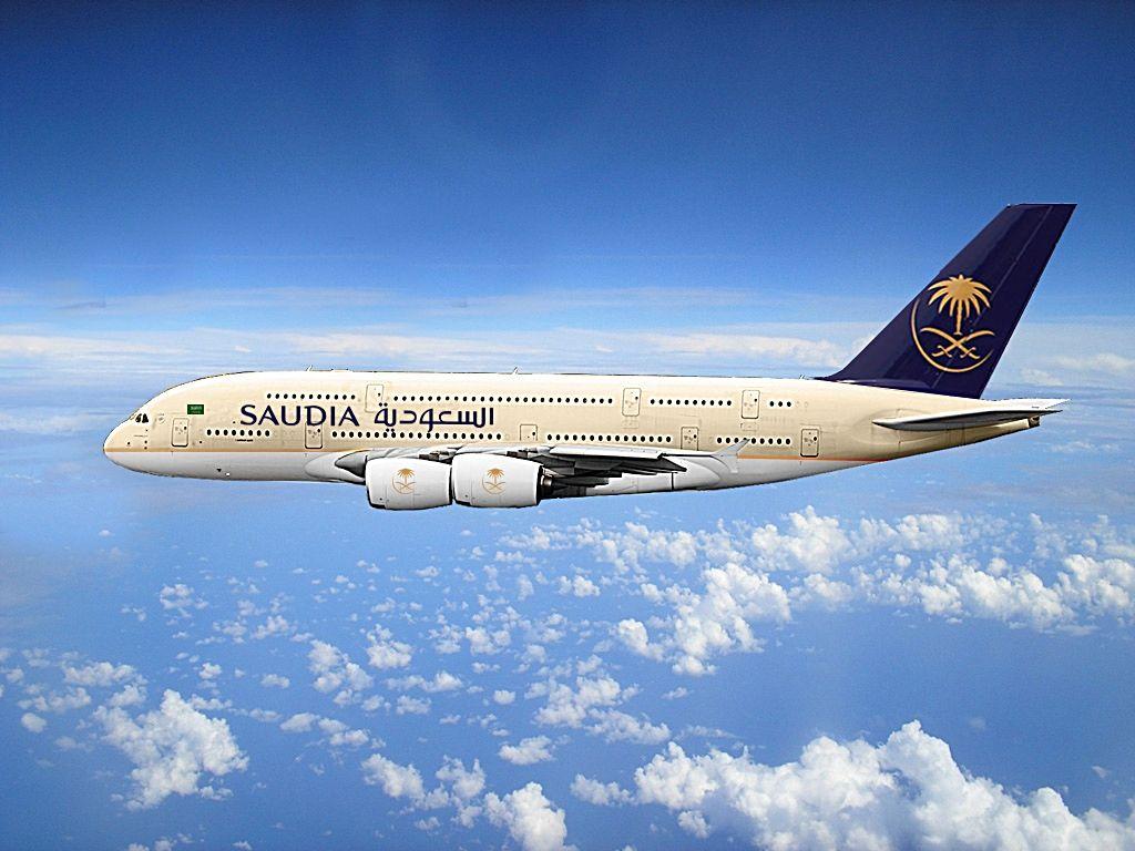 حجز تذاكر طيران منخفضة التكلفة من الخطوط السعودية على رحلات أرخص تذاكر طيران Air Company Passenger Jet Aircraft