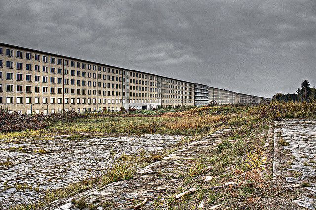 Prora a beach resort on the island of r gen germany is for Nazi holiday resort