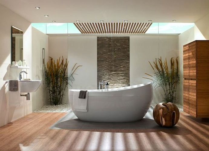 Inspiration : des salles de bains zen | Salle de bains, Salle et ...