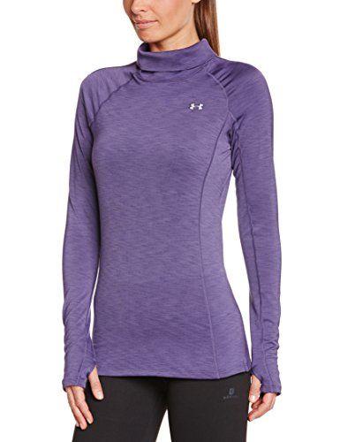 536d6f2b095f3 Under Armour - Camiseta deportiva lila para mujer de inverno  regalo  arte   geek…
