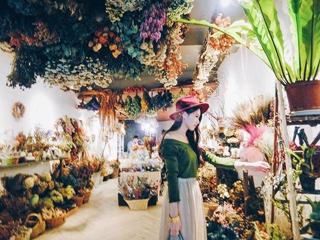 也不知道從什麼時候開始 就這樣不知不覺的 越來越愛了  #flower #Dryflower #看見綠 #看見綠俬旅 #療癒 #乾燥花#花#Tainan