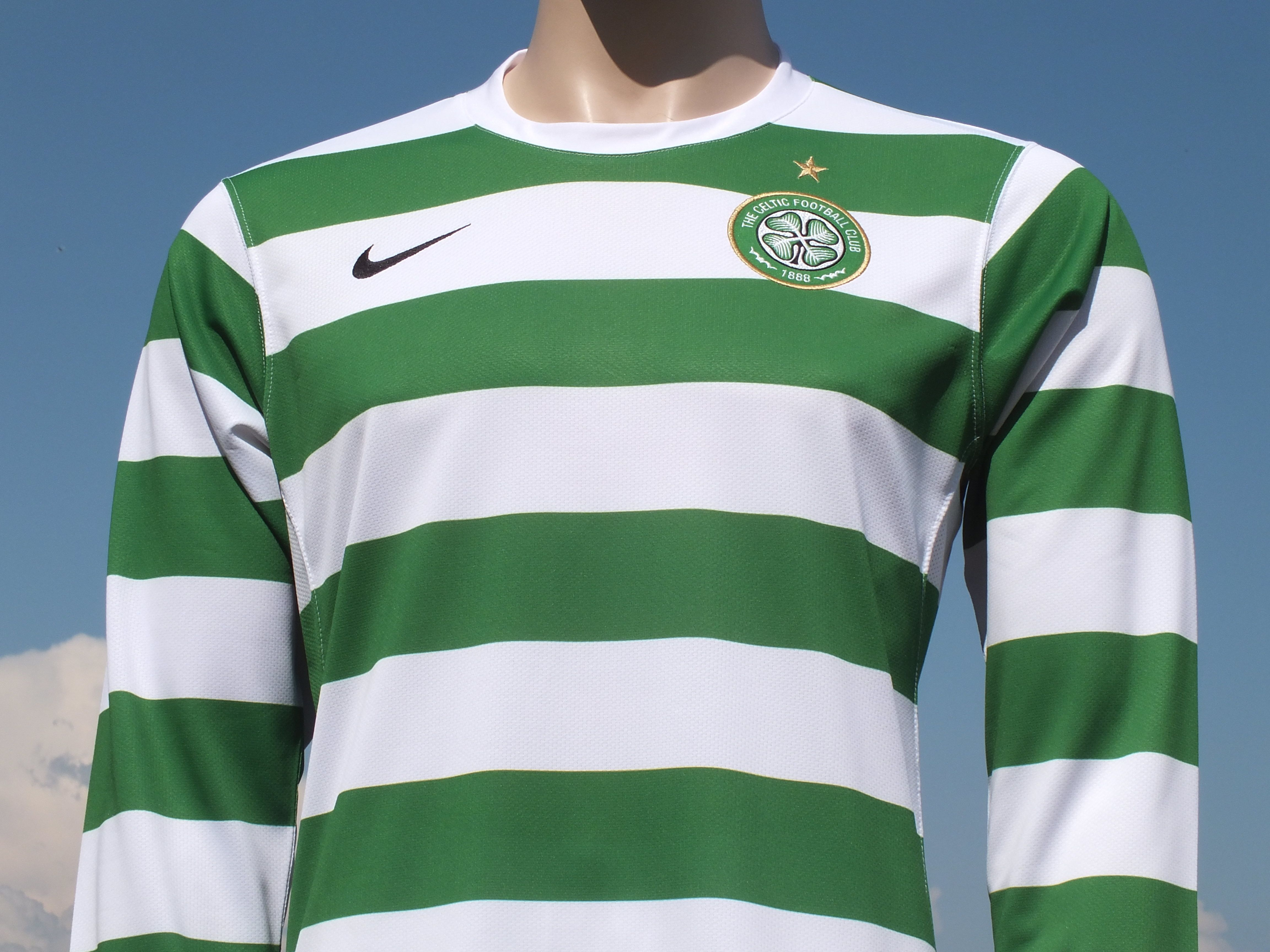Black Celtic FC Polo Shirt