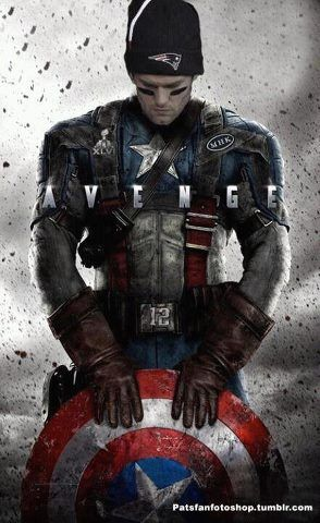 Brady As Captain America Love It New England Patriots