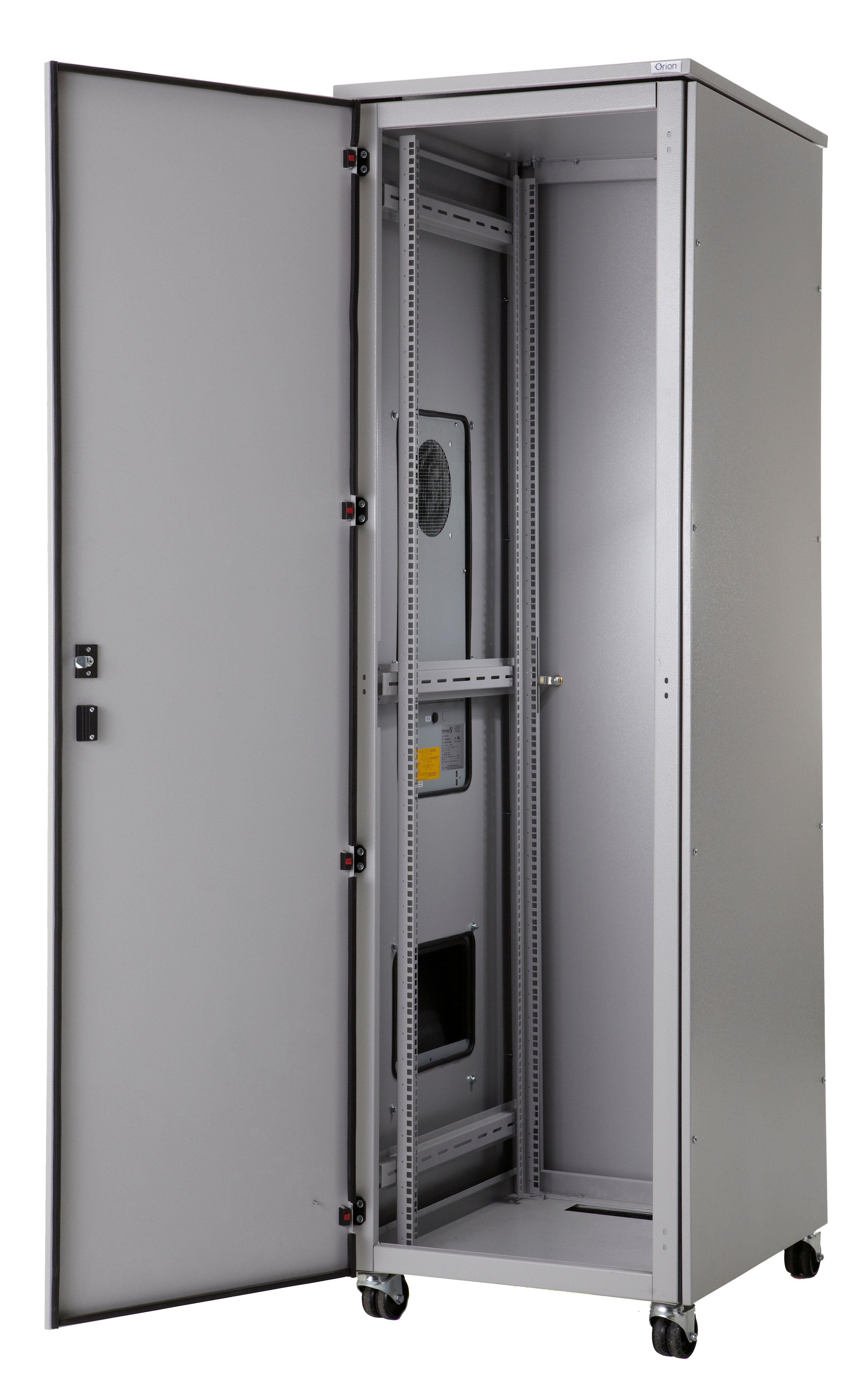 Tremendous Air Conditioned Server Cabinet Open Door Orion Rack Interior Design Ideas Gentotthenellocom