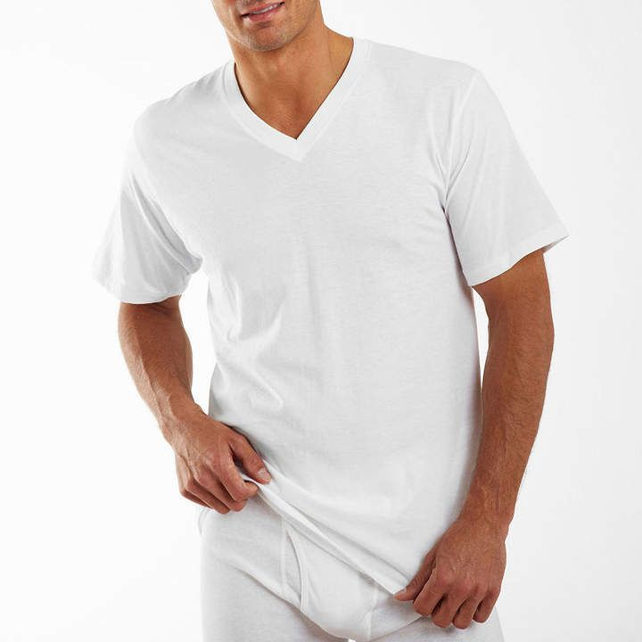642efb7527ad Jockey 3 Pair Classic V-Neck T-Shirt - Men's in 2019   Products ...