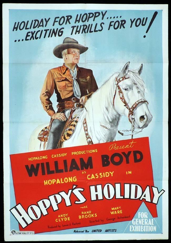 HOPPY'S HOLIDAY Original One sheet Movie Poster William