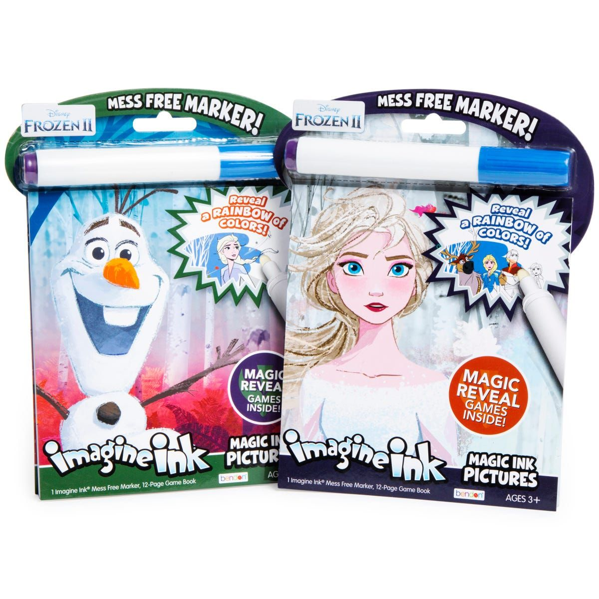 Disney Frozen 2 Imagine Ink Magic Ink Pictures Coloring Book Five Below Disney Frozen 2 Disney Frozen Coloring Books