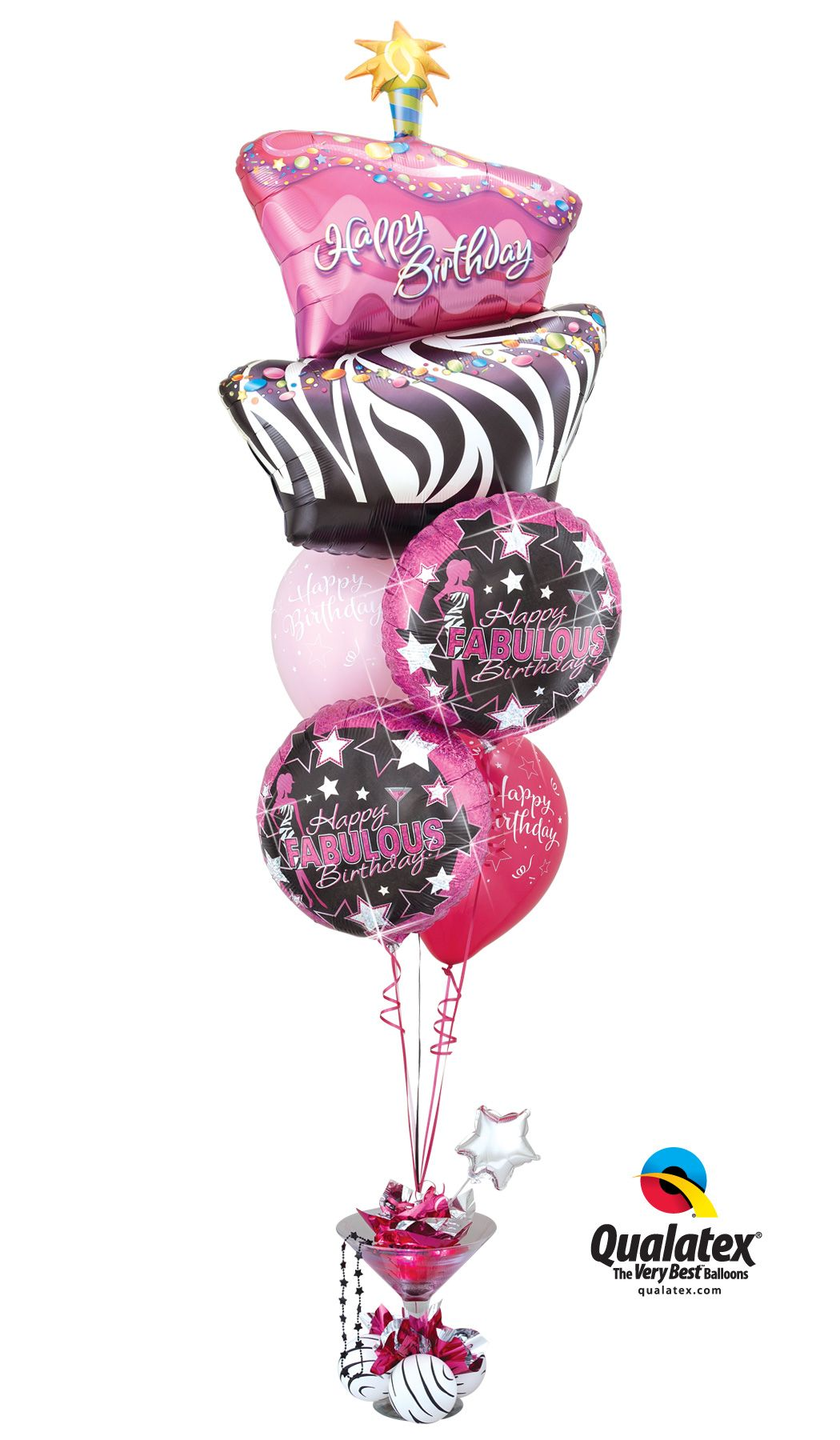 Dc3 Simply Fabulous Birthday Centerpiece