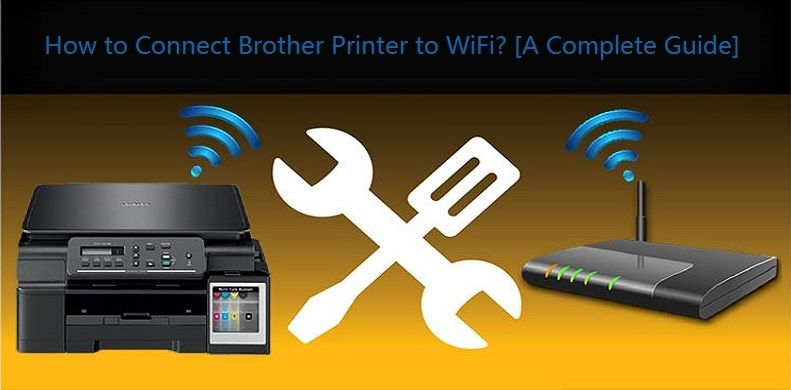 how to connect brother printer to wifi dcp-t710w