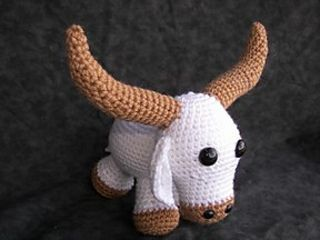 landon the longhorn steer patterndeb d'zio  crochet