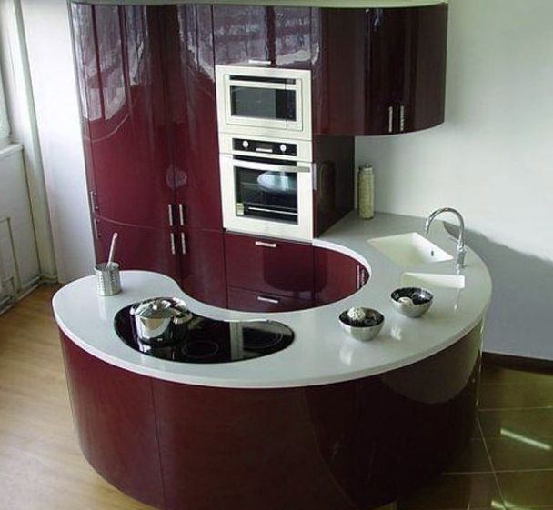 Resultado de imagen de cocinas integrales pequeñas para ...
