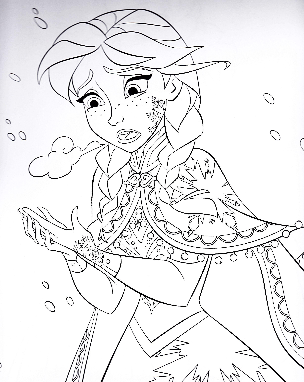 Frozen 64 Ausmalbilder für Kinder Malvorlagen zum
