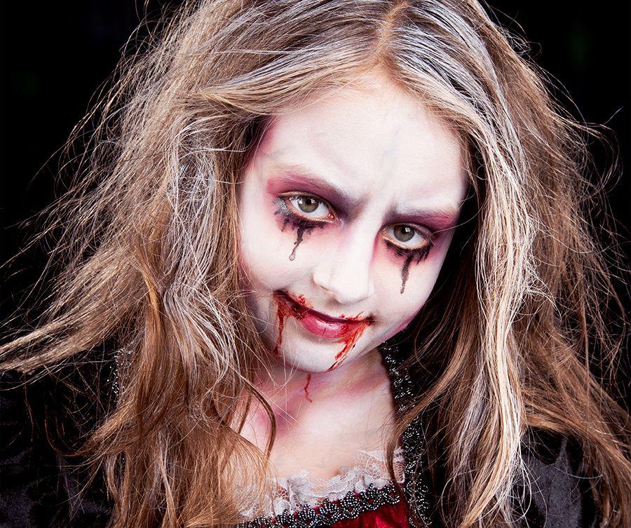 halloween kinder make up leicht gemacht makeup zombie. Black Bedroom Furniture Sets. Home Design Ideas