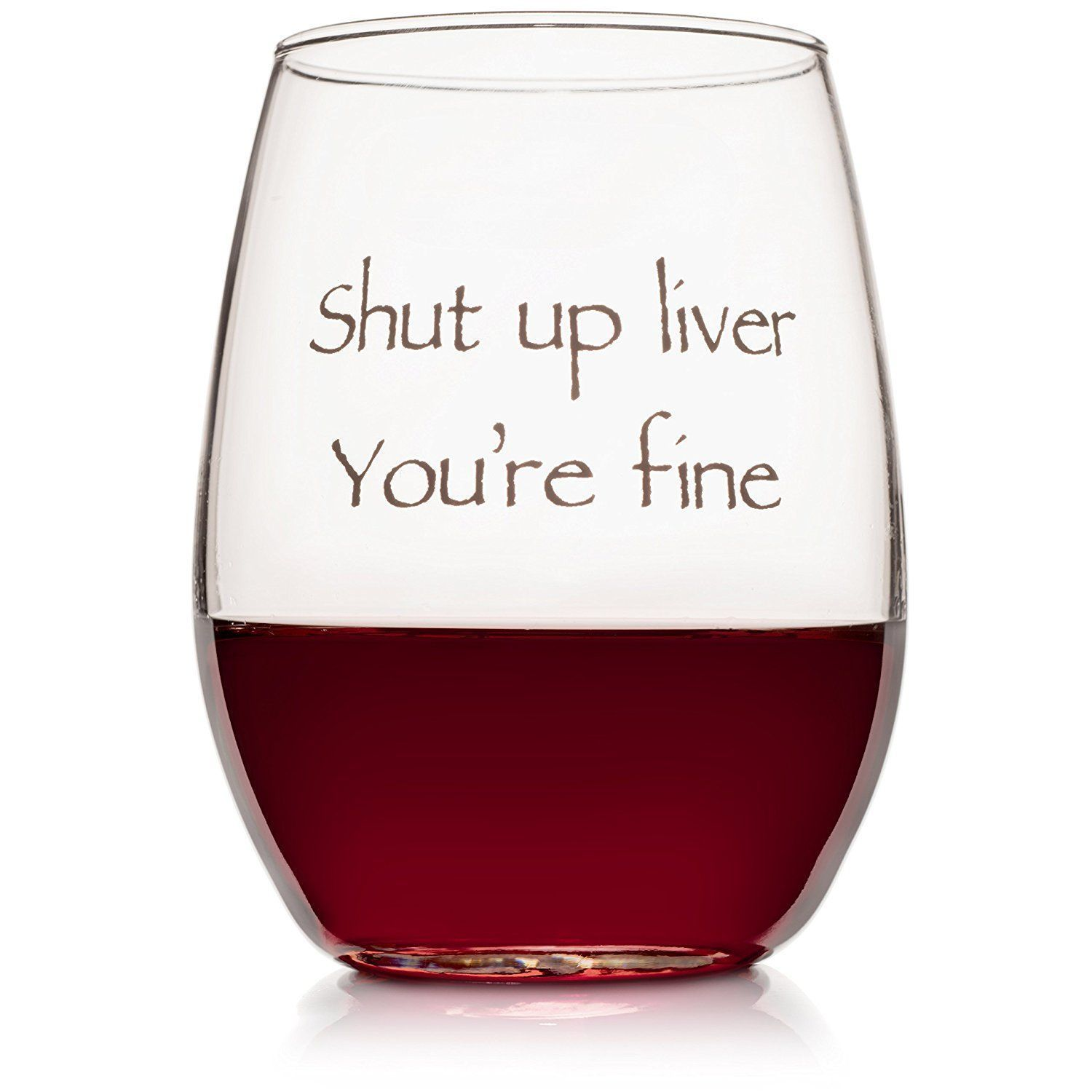 Funny Stemless Wine Glass Forget Every Worries When You Are In Mood Of Drinking Some Wine In This Funny Funny Wine Glass Funny Wine Gifts Funny Wine Glasses