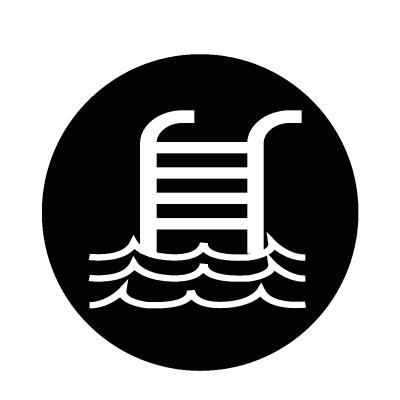 Swimming Pool Icon Swimming Pools Icon Swimming