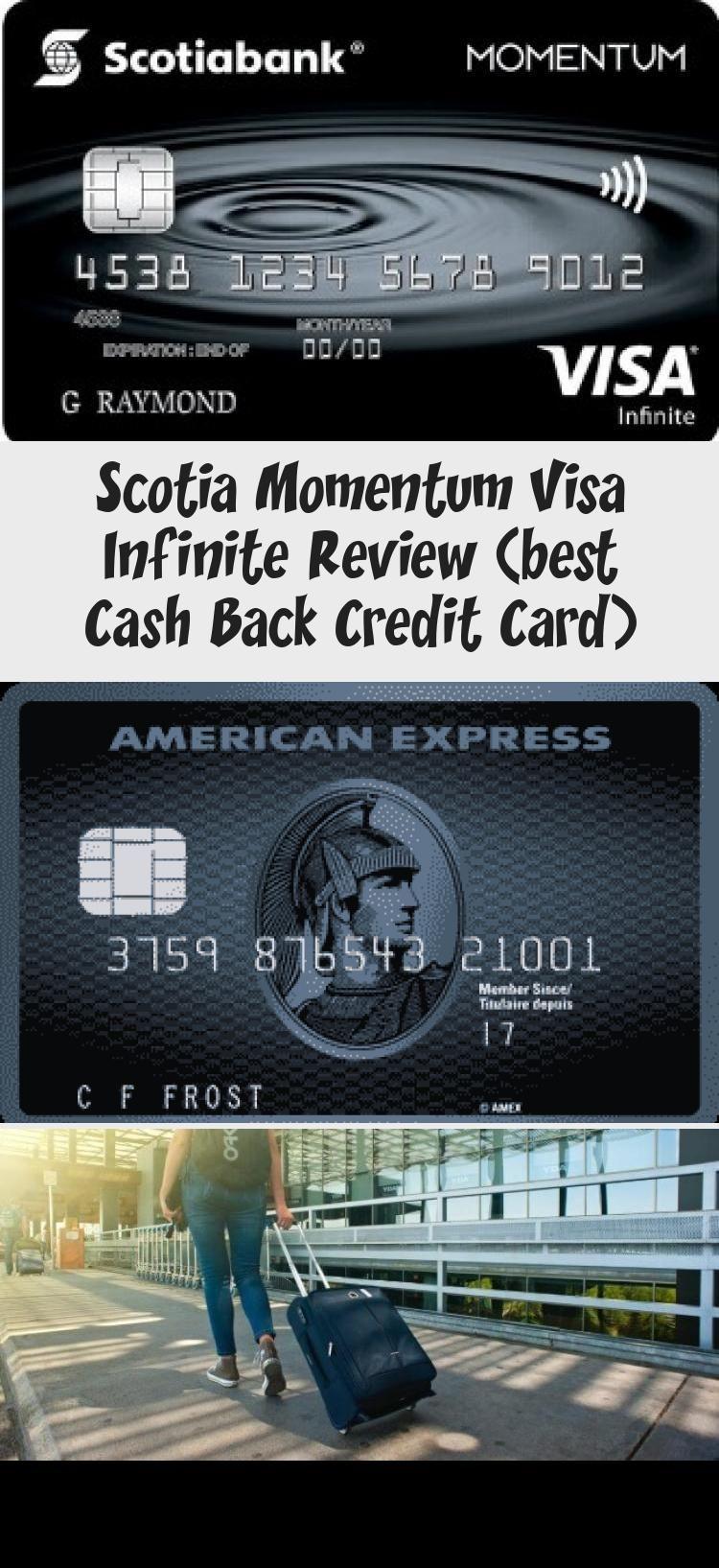 Scotia Momentum Visa Infinite Review Best Cash Back Credit Card