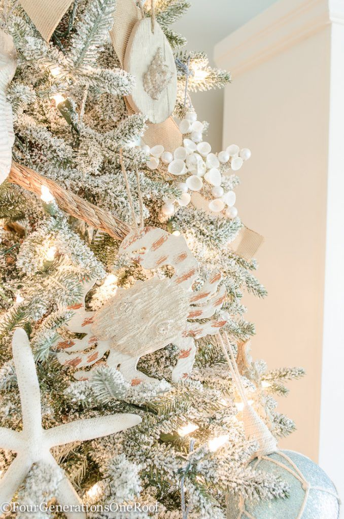 How to Create a Coastal Christmas Tree Coastal Christmas