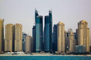 Dubai Marina by Rahul Bakshi - Click on the image to enlarge.