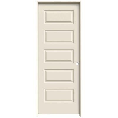 Jeld wen 32 in x 80 in rockport primed left hand smooth molded jeld wen 32 in x 80 in rockport primed left hand smooth molded composite mdf single prehung interior door planetlyrics Images