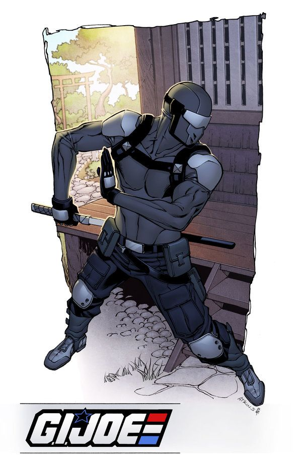 Snake Eyes Resolute Drawn By Robert Atkins Colours By Simon Gough