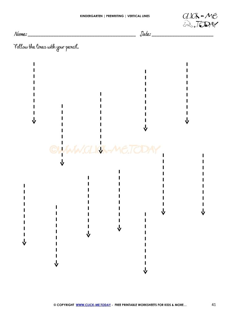 Vertical Lines Worksheet 41 Line Tracing Worksheets Tracing Worksheets Preschool Worksheets