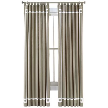 Jonathan Adler For Jcpenney Grey Border Curtains With Images