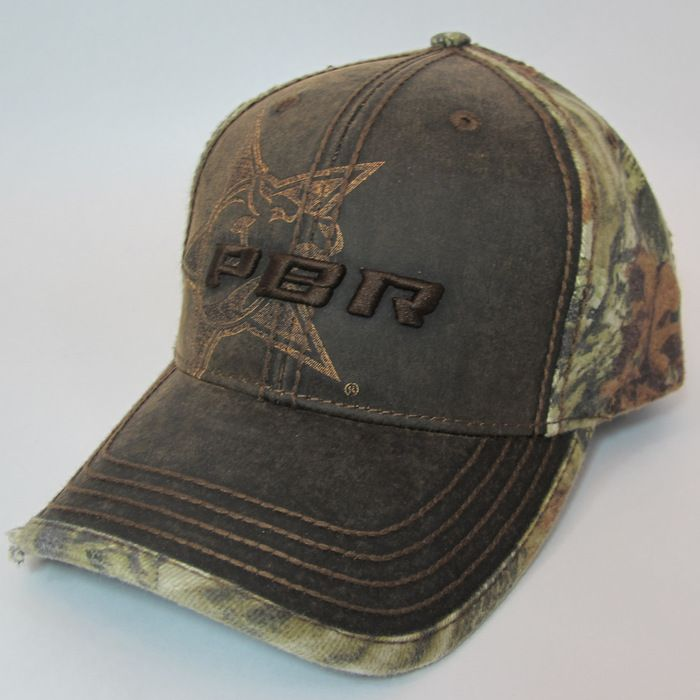Chevy Belt Buckles >> PBR distressed camo hat for $24.99.   Leather, Professional bull riders