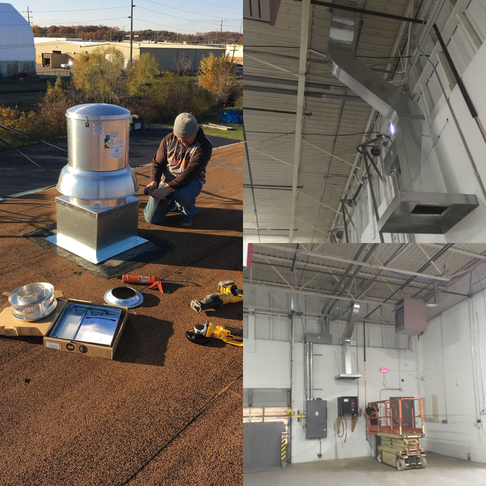 Commercial Duct And Exhaust Fan System In Starkcounty Canton