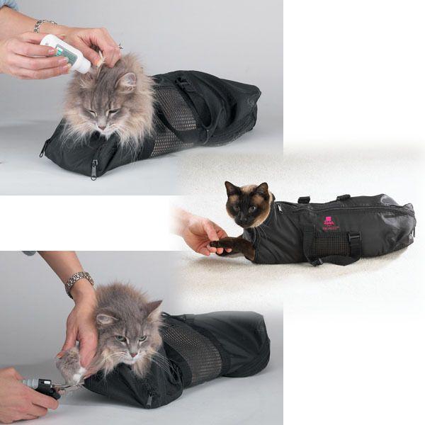 Mobile Cat Nail Trimming