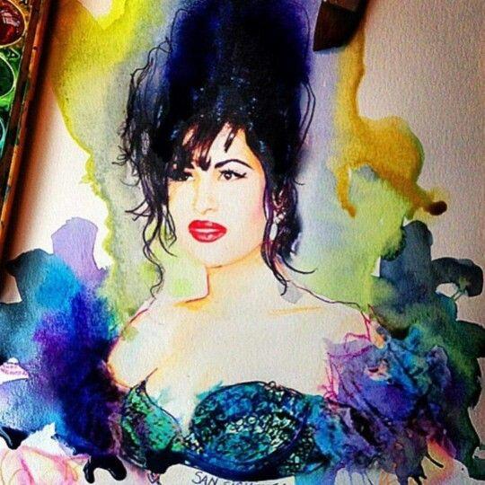 Siempre será Como la flor, Selena.
