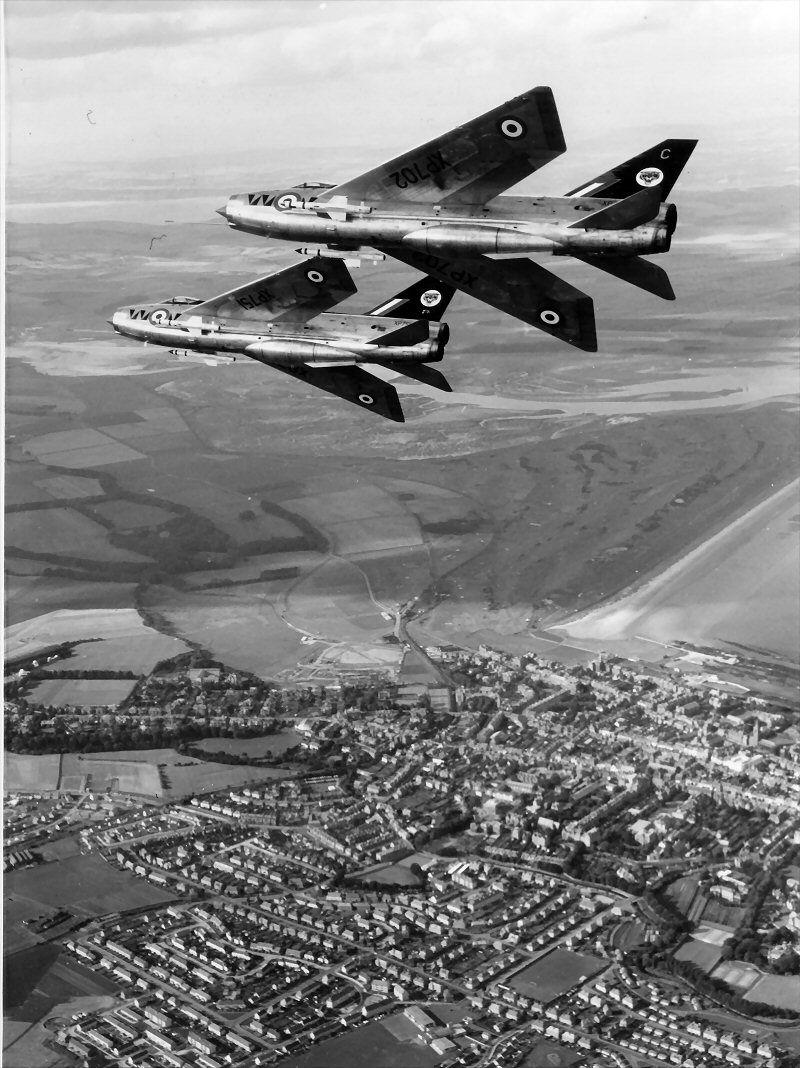 "Lightning F3 74sqn Royal Air Force ""The Tigers"""