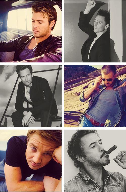 -My Avengers...