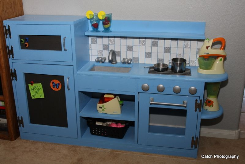 Ana White Build A One Piece Play Kitchen Free And Easy
