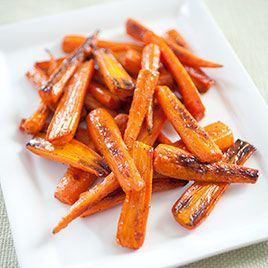 Roasted Carrots: This recipe makes carrots with a pleasingly al dente chew and earthy, sweet flavor.