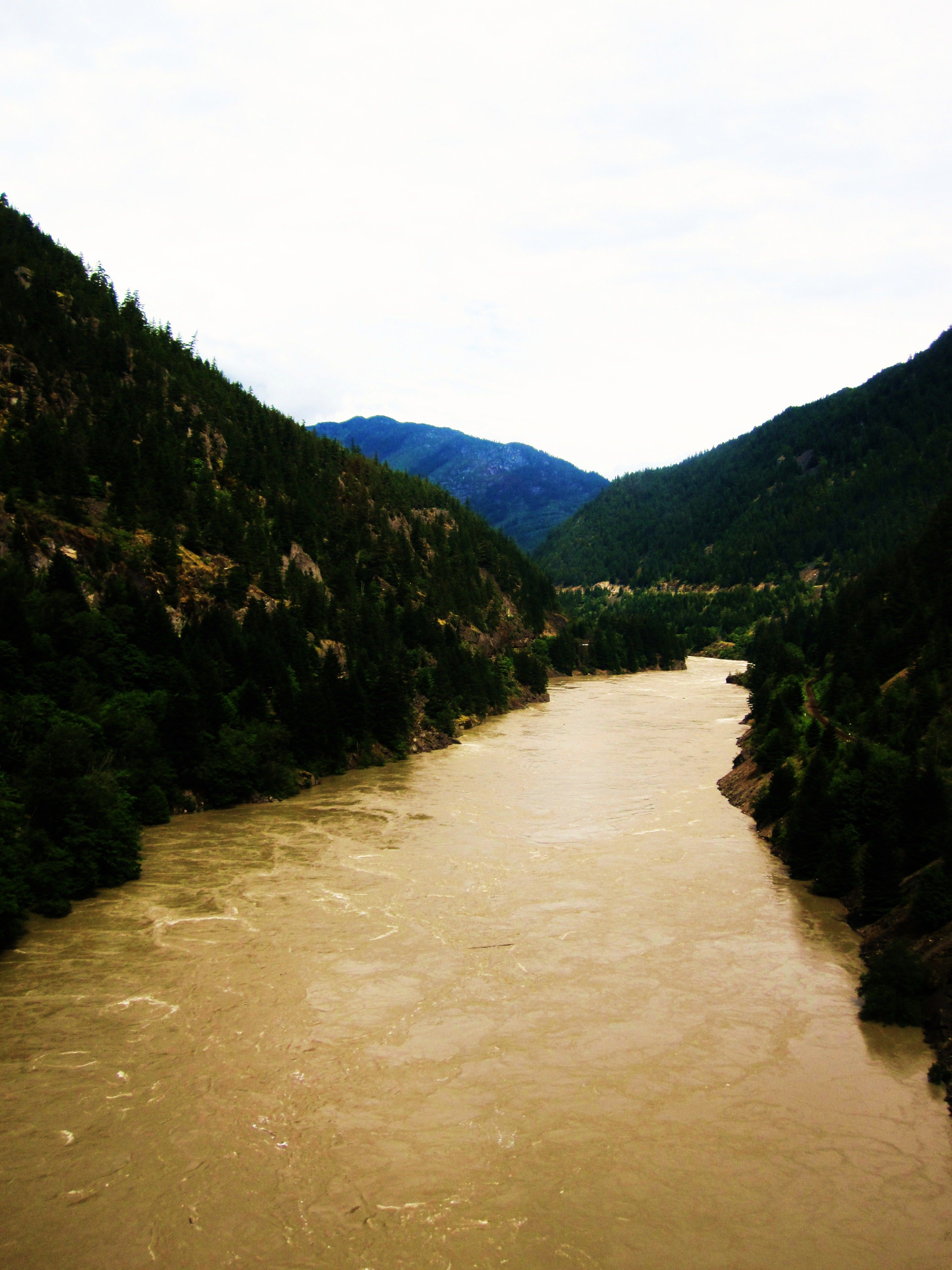 Where I work. Fraser Canyon, British Columbia, CANADA. It might have been worse.