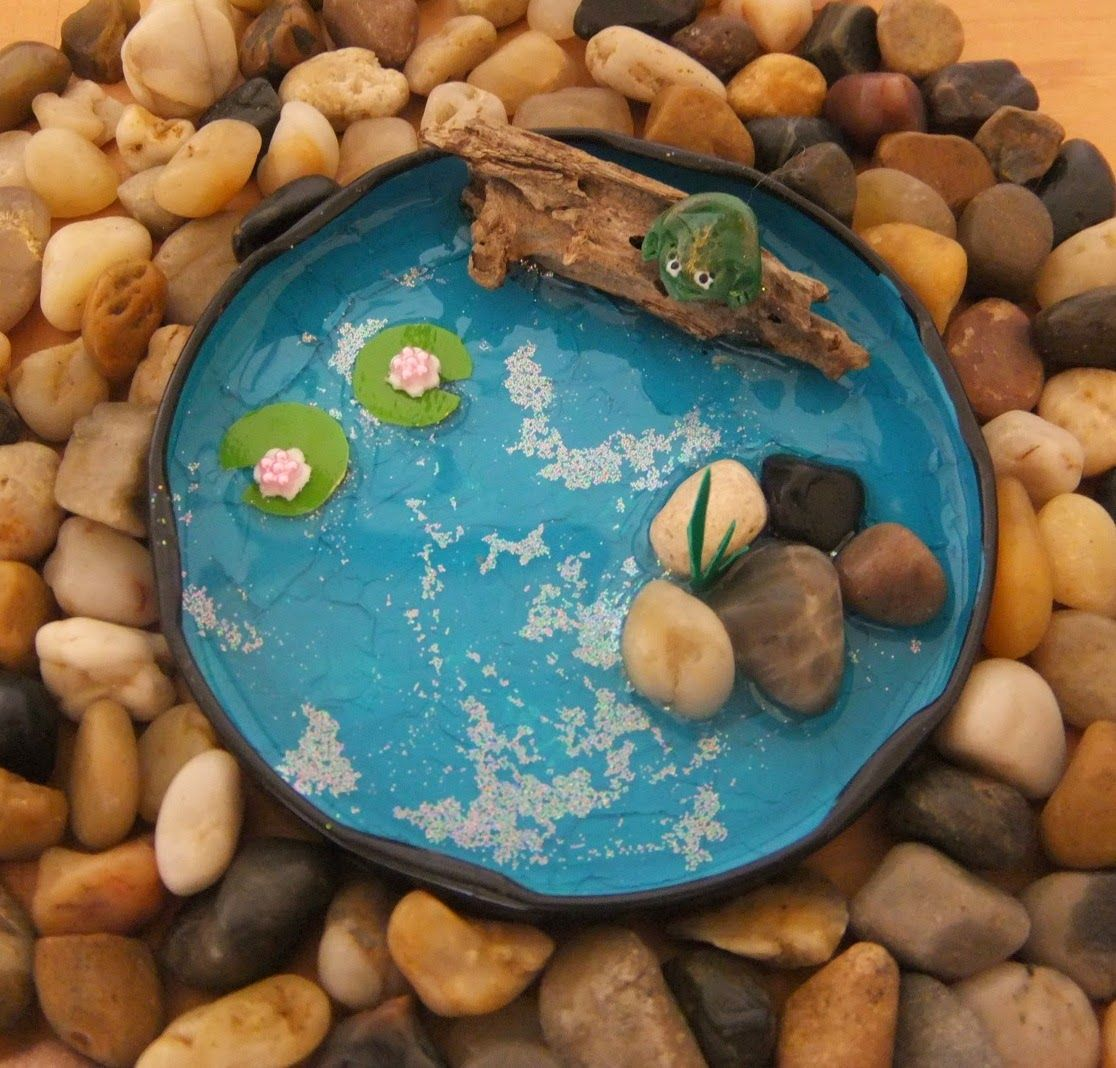 Medium Of Homemade Fairy Garden Items