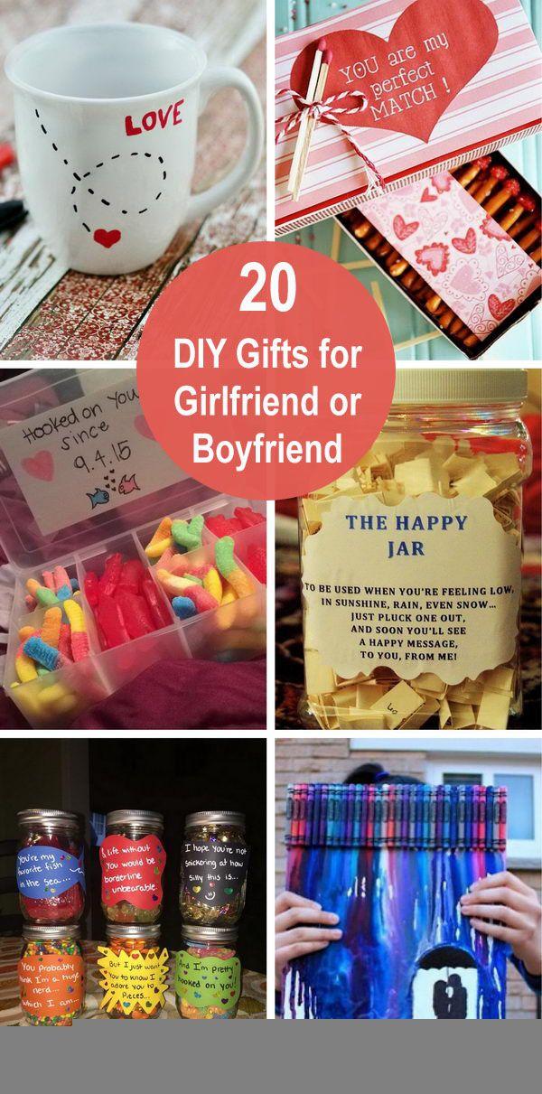 Photo of 20 DIY Gifts for Girlfriend or Boyfriend Diy Home Decor, Diy Crafts, Diy Clothes…