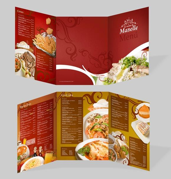 Beautiful Restaurant Menu Templates And Designs  Design Sparkle