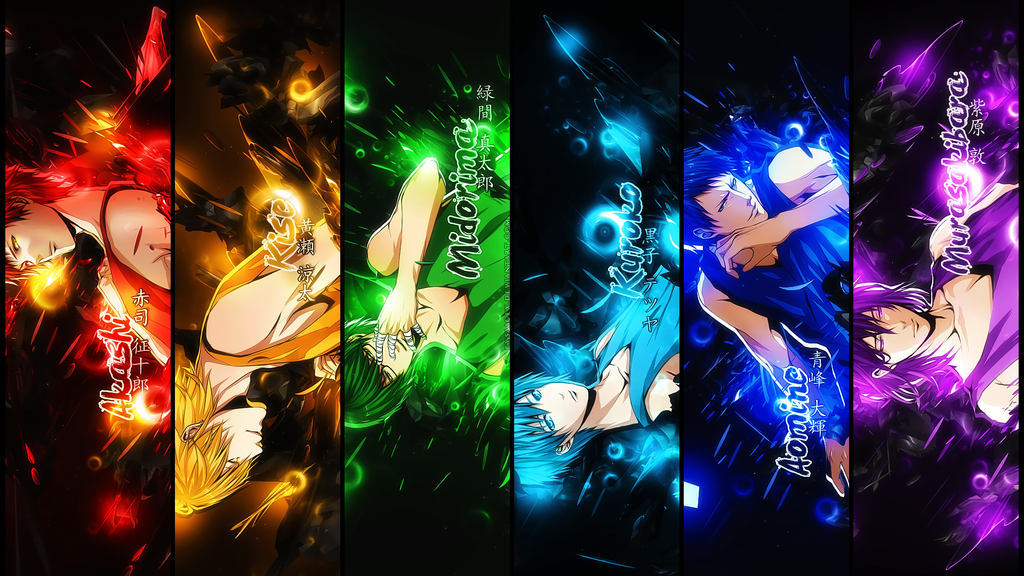 Kuroko no Basket HD WALLPAPER [1920 x 1080] by EysaaGFX on