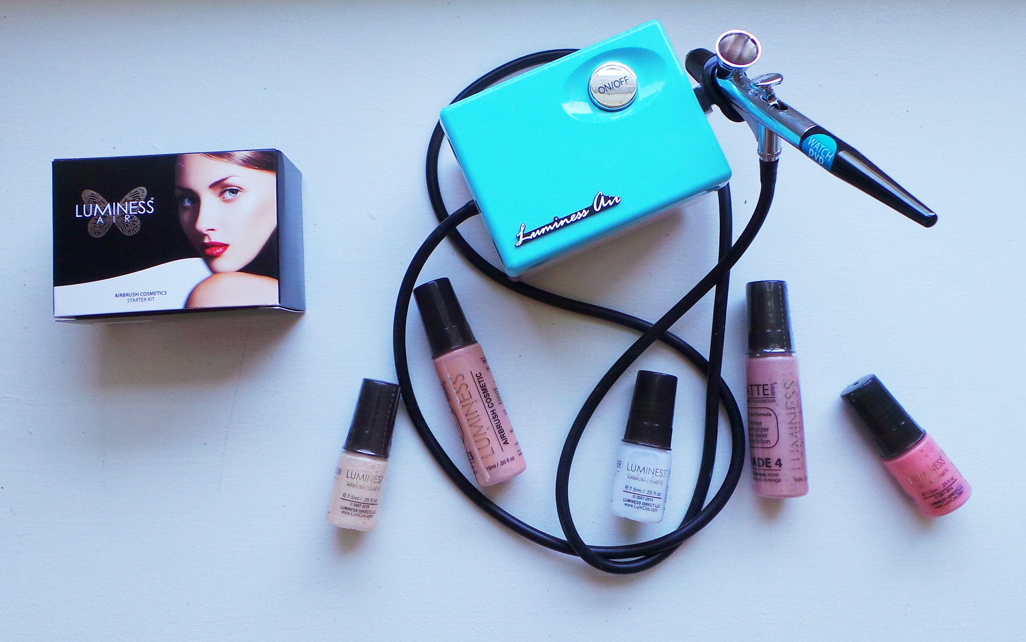 Luminess Air Airbrush Cosmetics Review Airbrush, Beauty