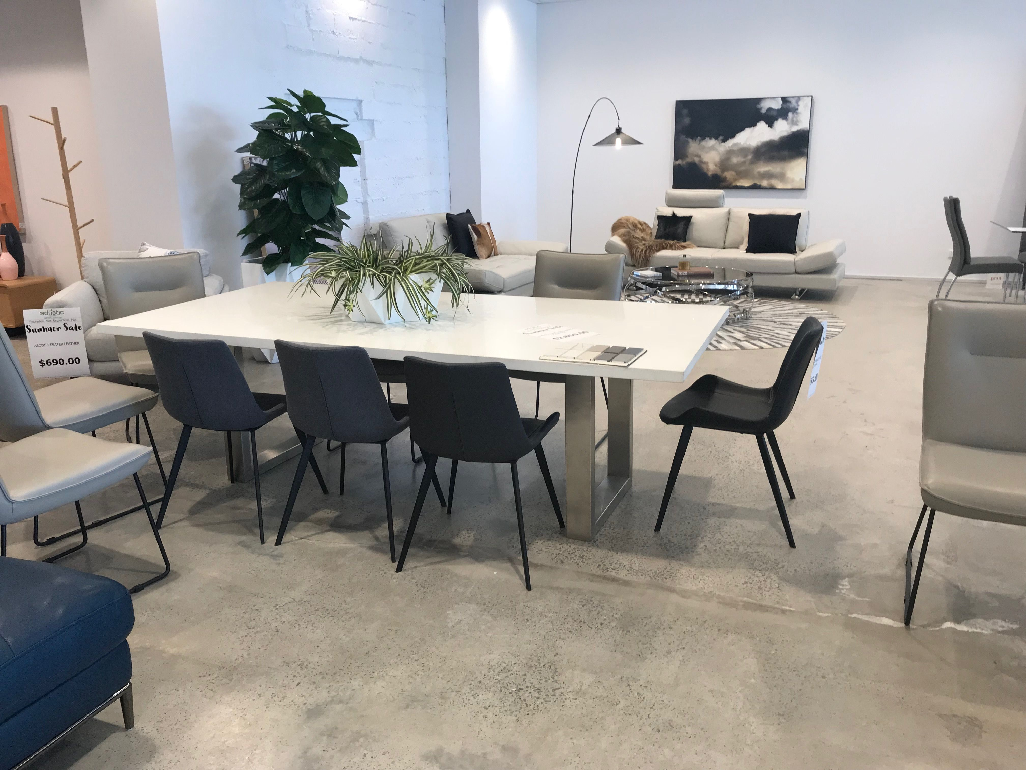 Stone Dining Table Adriatic Furniture