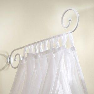 Ciel De Lit Blanc Patine Vieilli Ciel De Lit Ciel De Lit Bebe