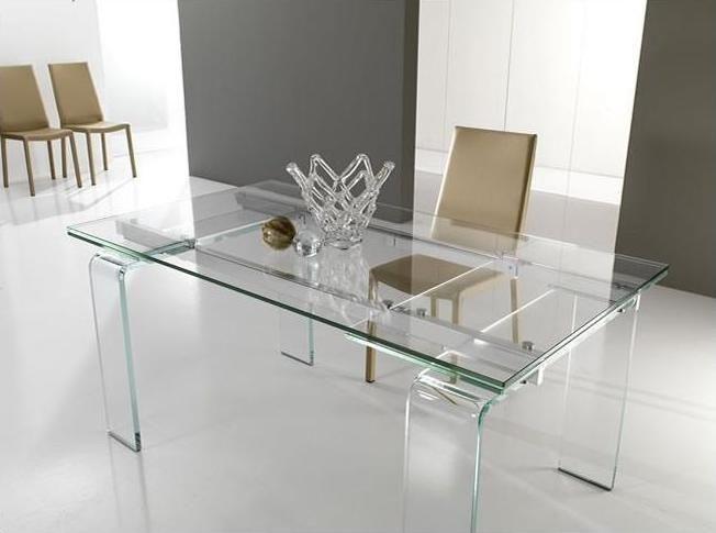 Tavolo di cristallo allungabile | Pasticceriacorcelli