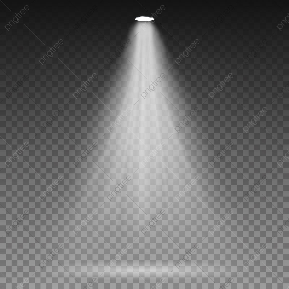 White Beam Lights Spotlights Vector Transparent Effect Bright Lighting With Spotlights Spotlight Light Beam Png And Vector With Transparent Background For Fr Light Beam White Beams Light Bulb Vector