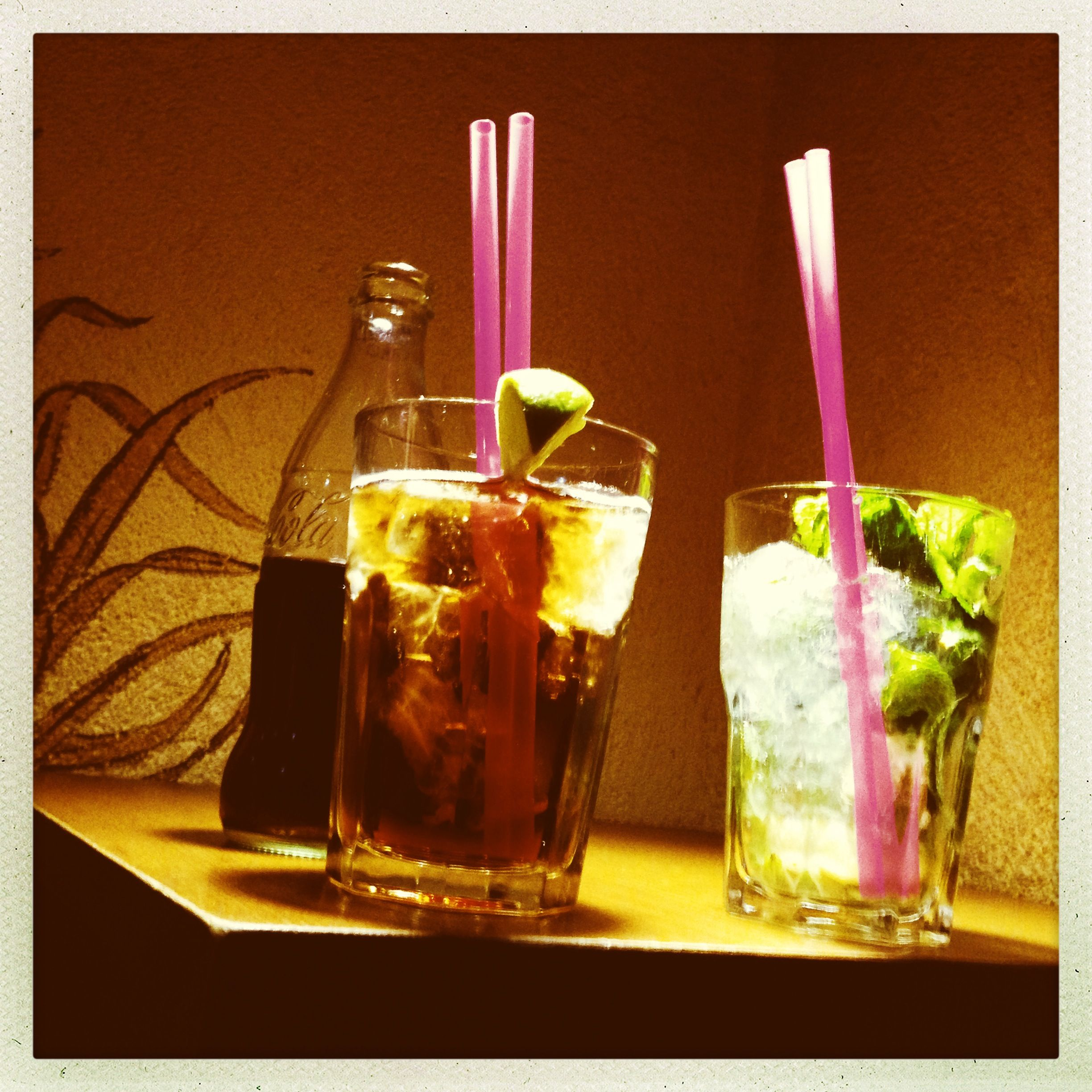 Cocktails and long drinks #roncooler #rhumcooler #moijto #mojito #larhumerie  #macollo12