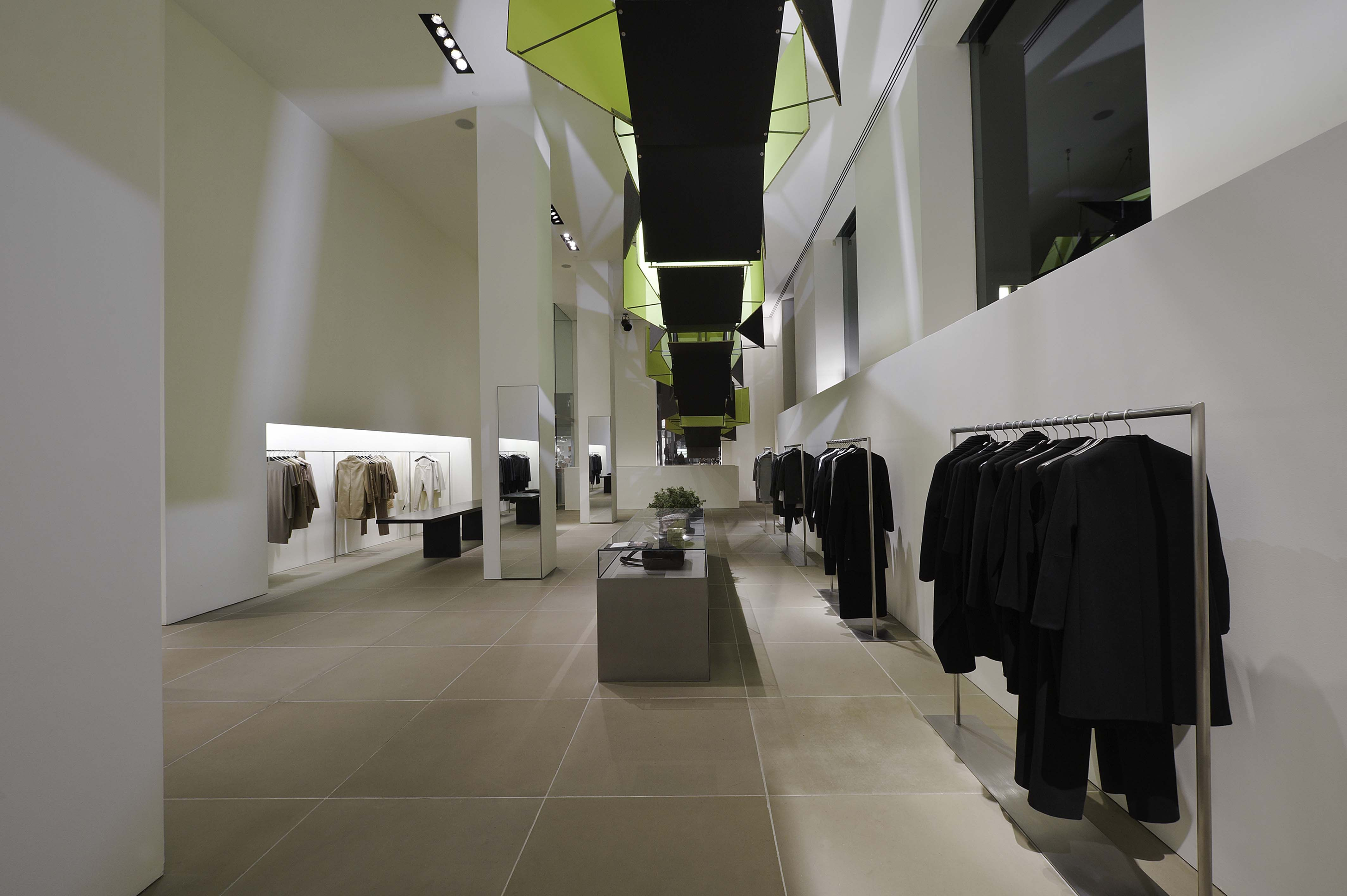 calvin klein madison store in nyc spacious and clean space by john pawson temporary art. Black Bedroom Furniture Sets. Home Design Ideas