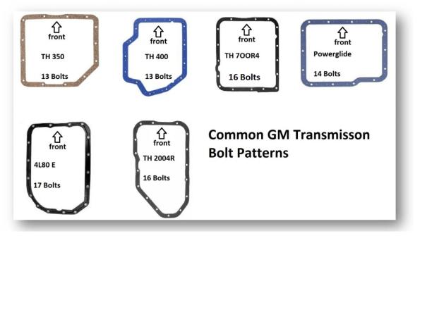 700r4 Identification 700r4 Transmission Resource Transmission Gm Transmissions Bolt Pattern