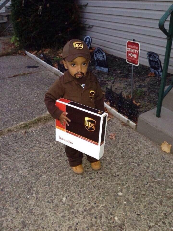 halloween costumes ups driver - Ups Man Halloween Costume