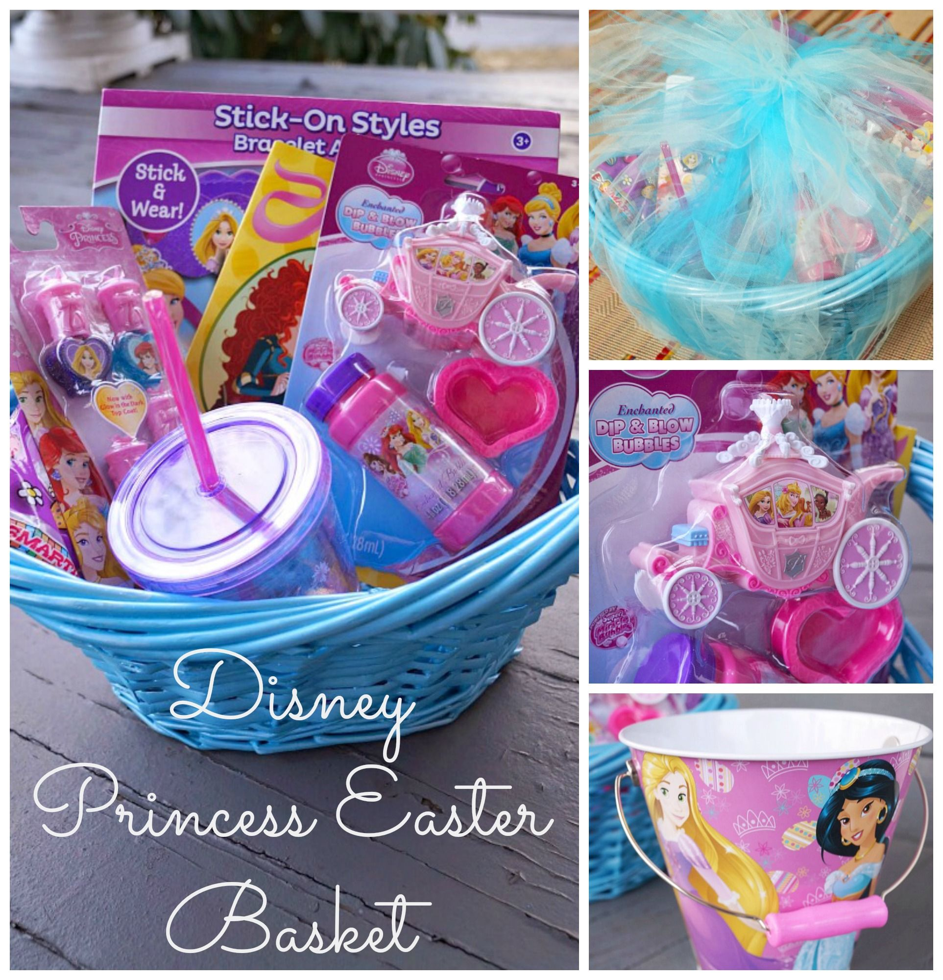 Diy disney princess easter basket easter baskets easter and diy disney princess easter basket negle Choice Image